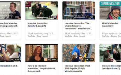 Intensive Interaction Videos on Youtube